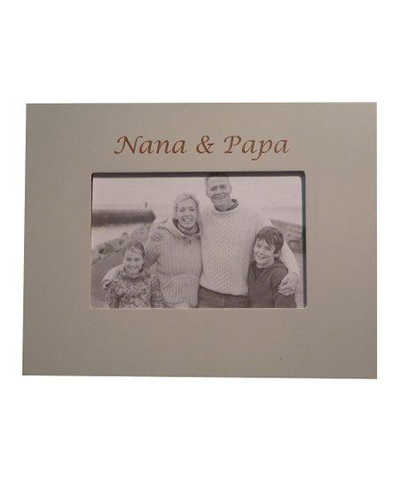 Havoc Gifts Oyster Nana Papa Frame Zulily