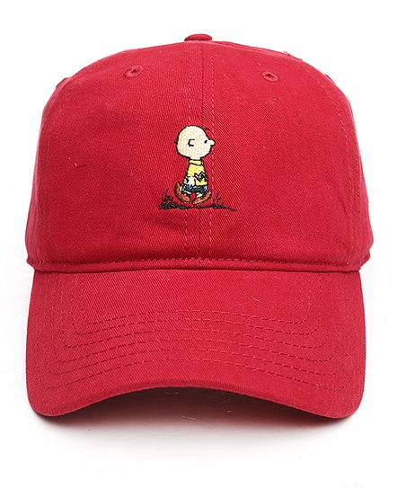 love this product Red Charlie Brown Baseball Cap 7fa9262d4a7