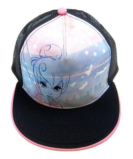 d009850f6cadf1 ... reduced disney peter pan tinkerbell black trucker hat ae89c 1232f
