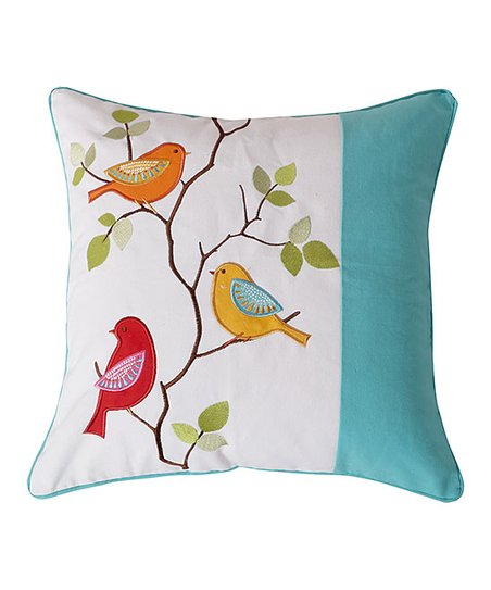 Levtex Home White Teal Sophia Throw Pillow Best Price And Reviews Zulily