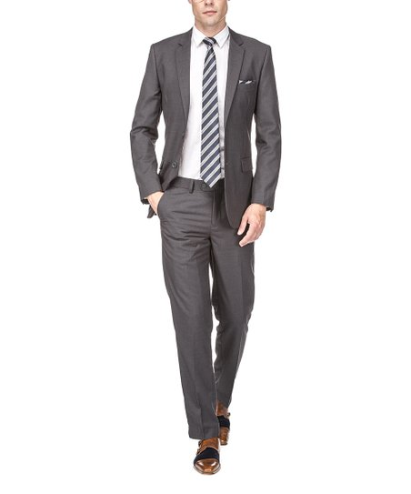 d43ea55c7bae love this product Charcoal Suit Jacket   Hemmed Pants - Men