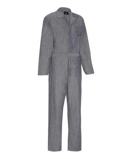 2c7a206cc078 love this product Gray Long-Sleeve One-Piece Work Jumpsuit - Men
