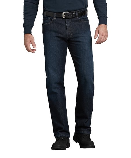 e5f53f1a8fa Dickies Extra Dark Wash Relaxed-Fit Straight-Leg Jeans - Men