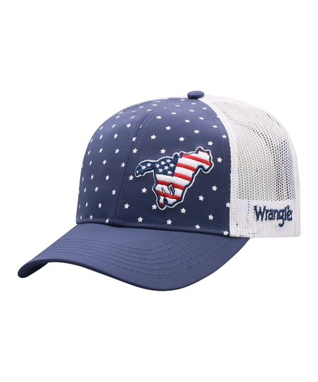 c47efcdd5411a love this product Navy Star USA Pony Six-Panel Trucker Hat