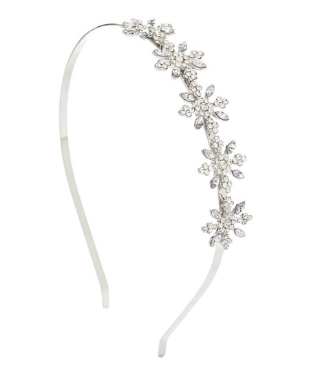 love this product Silvertone Crystal-Accent Snowflake Headband cbc76d2cc99