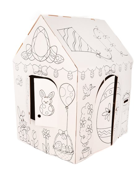 Easy Playhouse Spring Cottage Coloring Playhouse