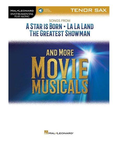 Hal Leonard Movie Musicals Tenor Sax Sheet Music Book