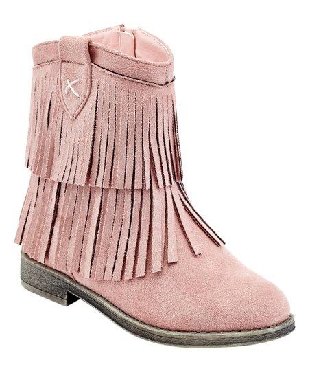 COCO Jumbo Pink Fringe Naomi Boot