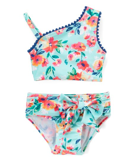 love this product Blue Floral Bikini - Infant 7a048ba1691a