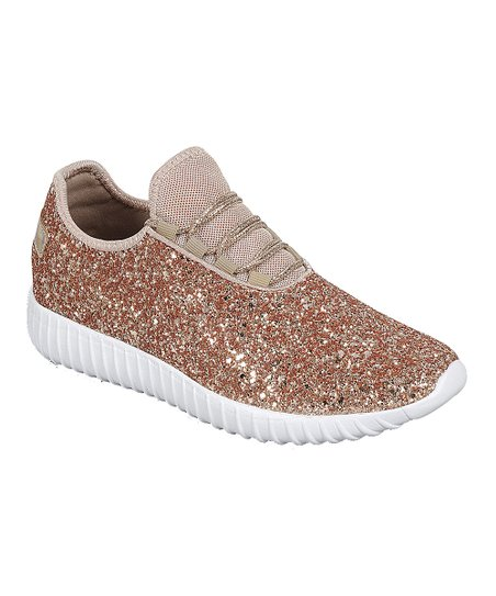 d04ccaecd406 love this product Rose Gold Sparkle Slip-On Sneaker - Girls