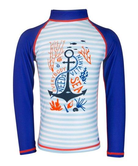 love this product Blue  Vitamin Sea  Rash Guard - Toddler   Kids 092a638c1