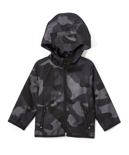 b864c3bea love this product Black Camo Two-Pocket Mesh Jacket - Infant, Toddler & Boys
