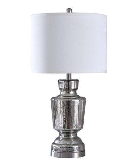 Stylecraft Home Collection Trophy Mercury Glass Table Lamp Zulily