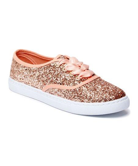a7edd01c084 love this product Rose Gold Glitter Sneaker - Women