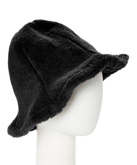 ce22fb13ace CoG Black Faux Fur Bucket Hat