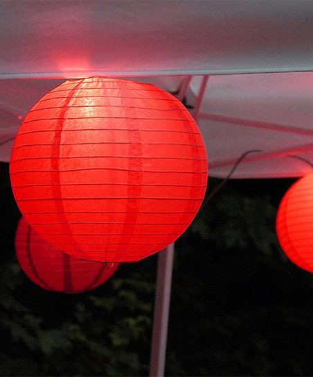 Love This Product Red Battery Operated Lantern Light String