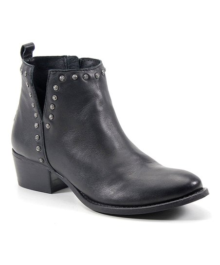f71a5de94ad Diba True Black Short Order Leather Ankle Boot - Women