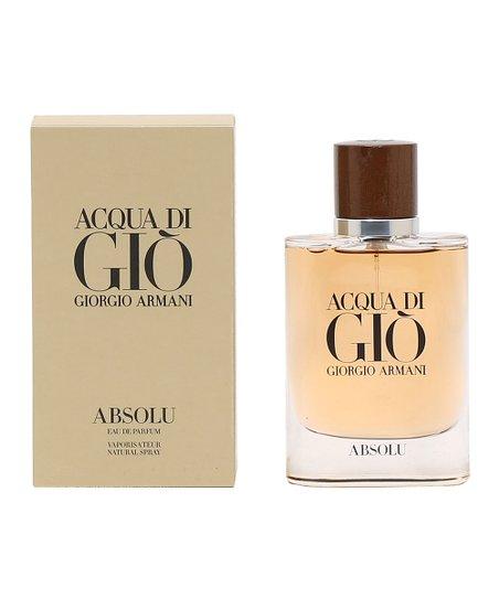 Giorgio Armani Acqua Di Gio Absolu 25 Oz Eau De Parfum Men Zulily