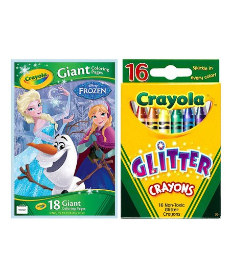Crayola Colouring Pack featuring Frozen 2 | openshop | 543x452