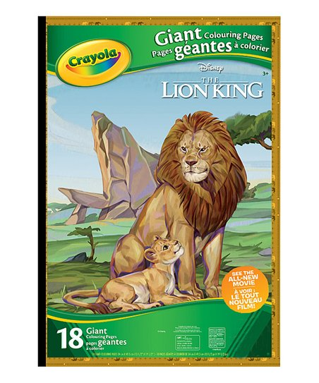 - Crayola Lion King Giant Coloring Pages Book Best Price And Reviews  Zulily