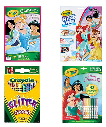 Crayola Disney Princesses Coloring Book Set Best Price And Reviews Zulily