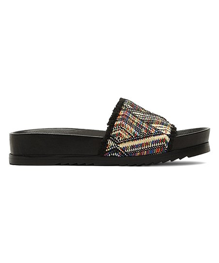 95eddb0d053d Frye Black Lily Fray Slide - Women