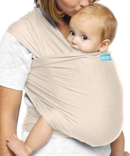 9e55acf44ee Moby Wraps Almond Evolution Baby Carrier