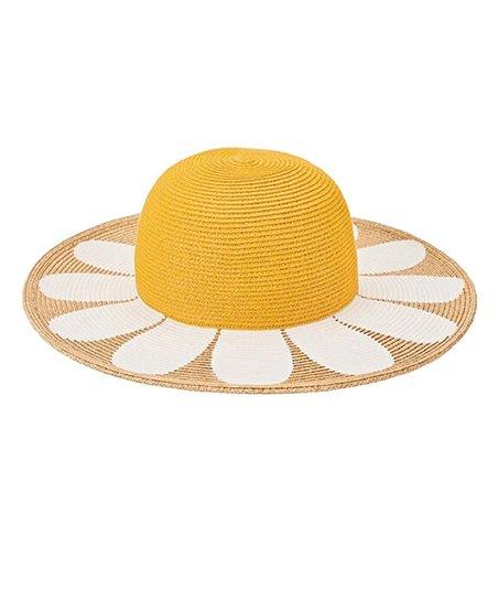 San Diego Hat Company Yellow Daisy Sunhat  73516e7464e