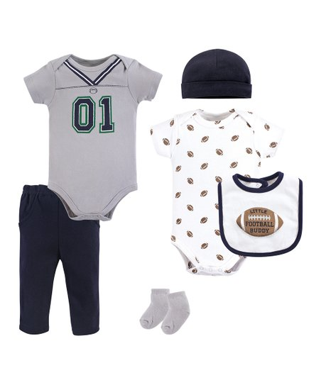 love this product Gray   Navy  01  Bodysuit Set - Newborn   Infant a227aedc3