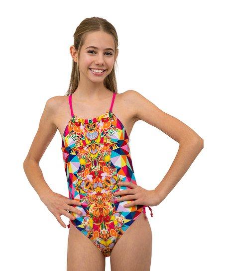 Jantzen Girls One Piece Swimsuit