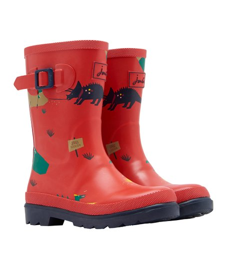 Joules Kids Boys Baby Welly Rain Boot