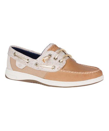 Oat Sparkle Rosefish Boat Shoe - Women