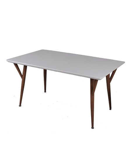 New Spec Furniture White Café Dining Table Zulily