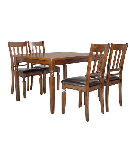 Safavieh Brown Dining Table   Side Chair Set  2901ed225a
