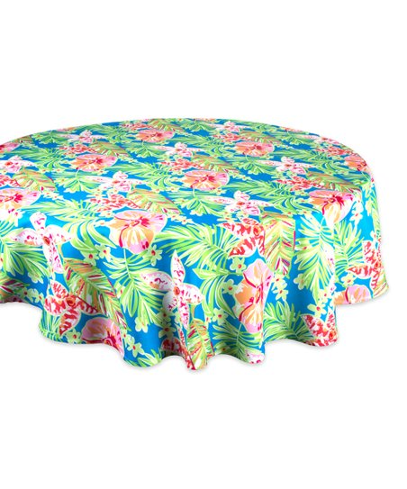 Love This Product Summer Fl Zipper Round Outdoor Tablecloth