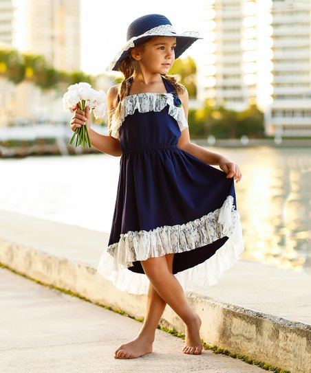 Girls Halter Dress