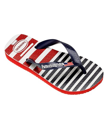 0ba617308 love this product Red   Blue USA Stripe Flip-Flop - Kids