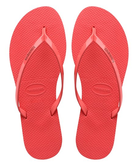 416f19448ed8 Havaianas Coral New You Metallic Flip Flop - Women