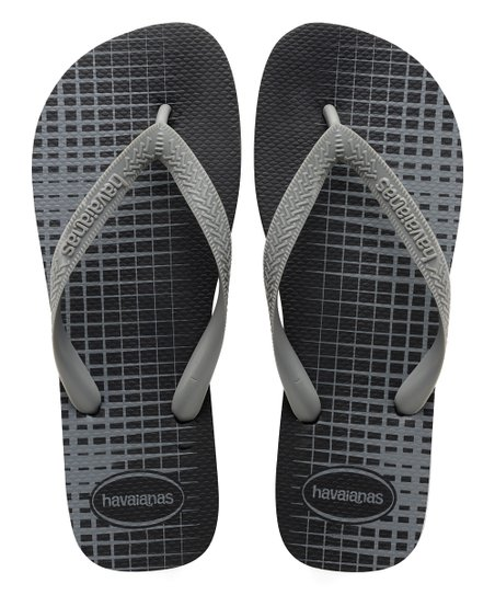 0a5b2178a3c0 Havaianas Black   Steel Gray Top Basic Flip Flop - Men