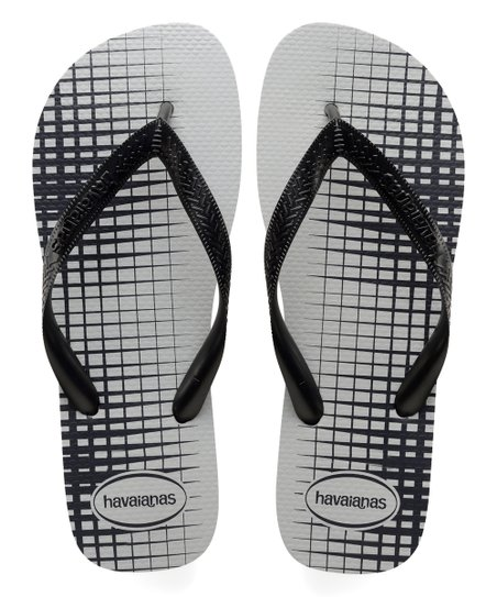 thoughts on well known meet Havaianas Black & White Geometric Basic Flip-Flop - Men
