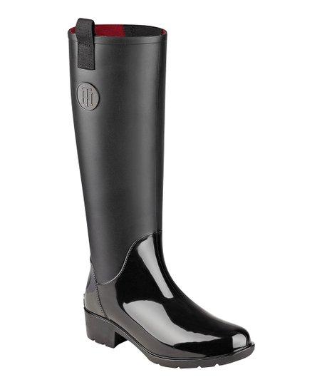 dbe3bf7b0 Tommy Hilfiger Black Karissa Rain Boot - Women