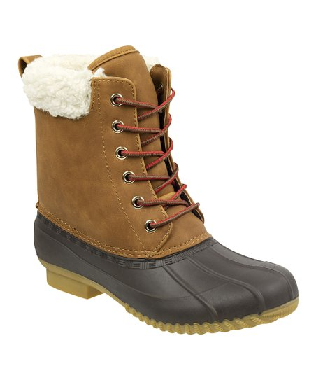 f3a60f655783 Tommy Hilfiger Thrus   Espresso Russels Leather Duck Boot - Women ...