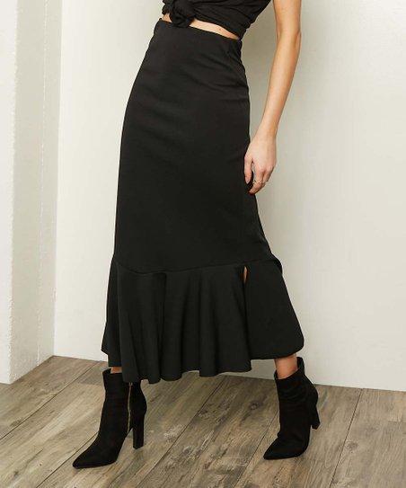 a614beb94561 Milly Penzance Black Mermaid Maxi Skirt - Women & Plus | Zulily