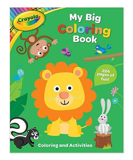 Crayola My Big Coloring & Activity Book | Zulily