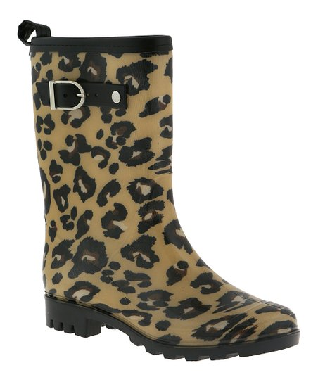 98b39db0d05a Capelli New York Leopard Rain Boots - Women