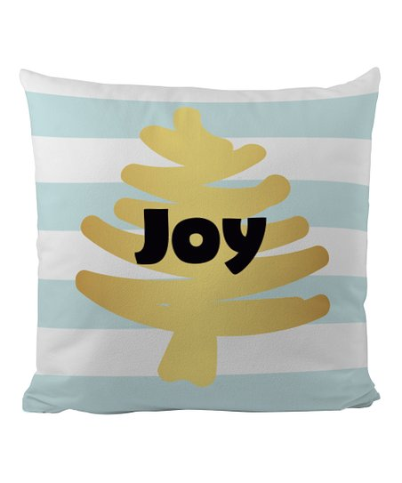 Butter Kings Joy Christmas Collection Throw Pillow Cover Zulily