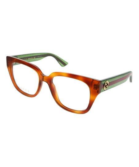 1ee4019aaf5 love this product Orange   Green Thick Round Eyeglasses
