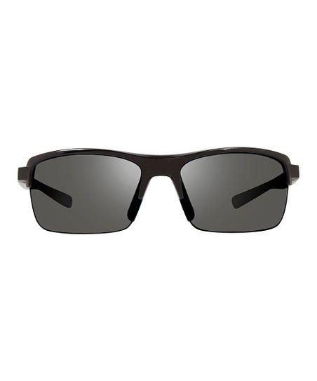 7ddb8ade471 love this product Shiny Black   Gray Crux Polarized Browline Sunglasses