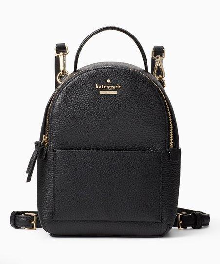 2efb03c97 Kate Spade Black Jackson Street Merry Leather Backpack | Zulily