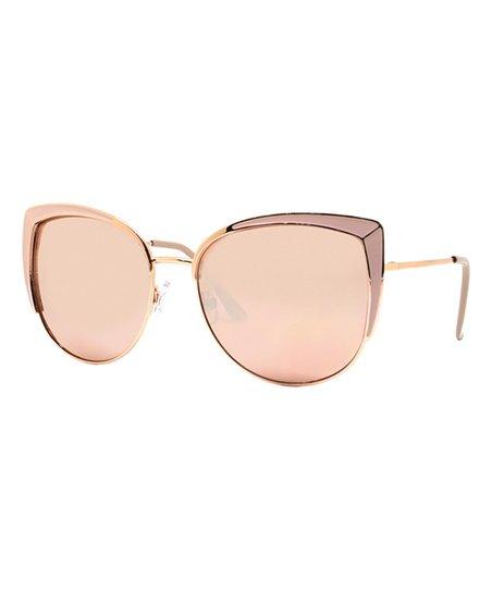 7d205f3dc4 love this product Light Pink Baja California Cat-Eye Sunglasses